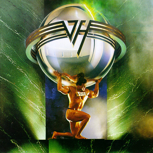 Van Halen 5150 CD Cover
