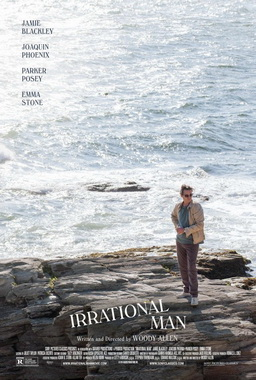 """Irrational Man (film) poster"" by Source. Licensed under Fair use via Wikipedia - https://en.wikipedia.org/wiki/File:Irrational_Man_(film)_poster.jpg#/media/File:Irrational_Man_(film)_poster.jpg"