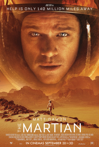 The-Martian Movie Poster