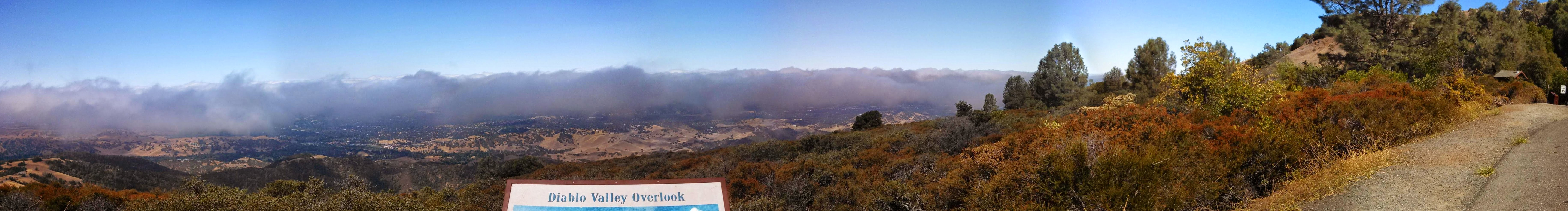 Sometimes you gotta stop and take in the view. This is right before the last climb to the summit on Mt. Diablo.